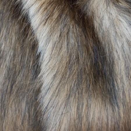 Степная лиса мех 50мм