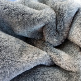 Эко-мех 10 мм - меланжевый серый