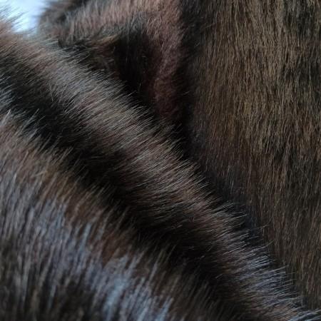 Песец темно коричневый 30 мм