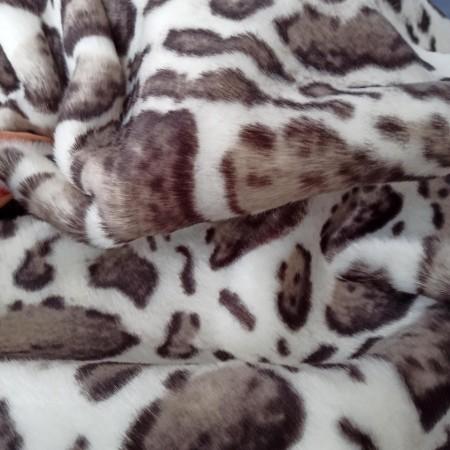 Мех под норку  10 мм Бенгальский кот