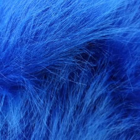 Мех синий 90мм