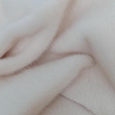 Реалистичный искусственный мех мини Норка Молочный