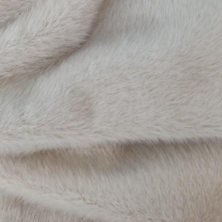 Мини норка 5мм Бежево-серый