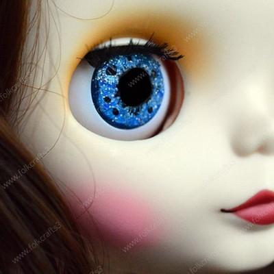 Стеклянные глаза для Blythe ручной работы в технике живой взгляд в ассортименте