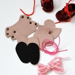 Набор для изготовления ботиночек для Блайз Розовый