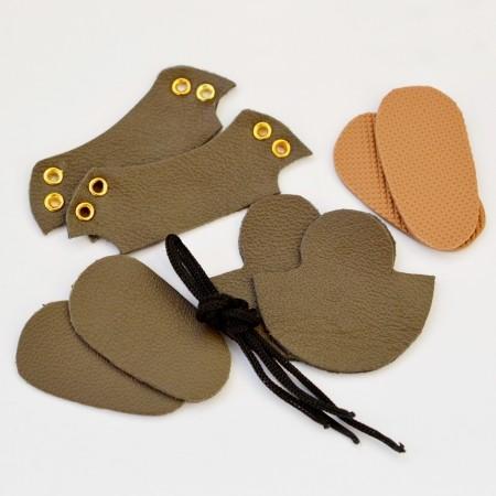 Набор для изготовления ботиночек для Блайз  Хаки