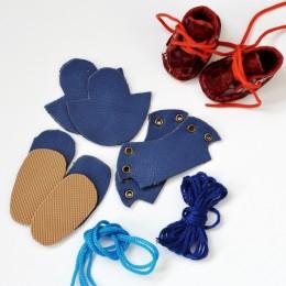 Набор для изготовления ботиночек для Блайз Синий