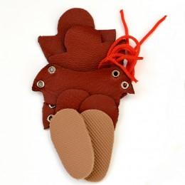 Набор для изготовления ботиночек для Блайз Рыже-коричневый