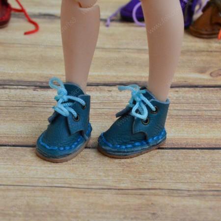 Ботинки для Блайз голубые
