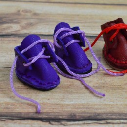Ботинки для Блайз фиолетовые