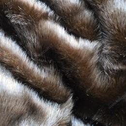 Норка  18мм Темно коричневая
