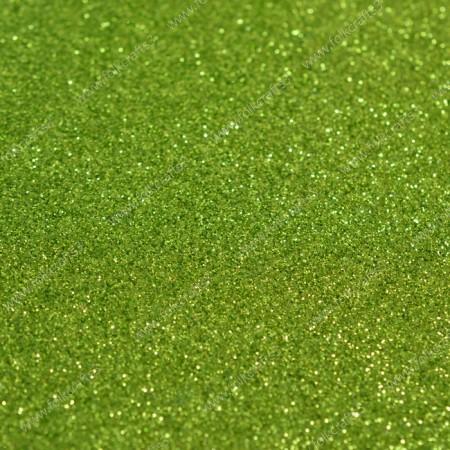 Блестящий фоамиран 2 мм - Салатовый