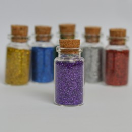Декоративные блестки - Фиолетовые