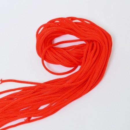 Микро шнурки - 3 мм - Красный