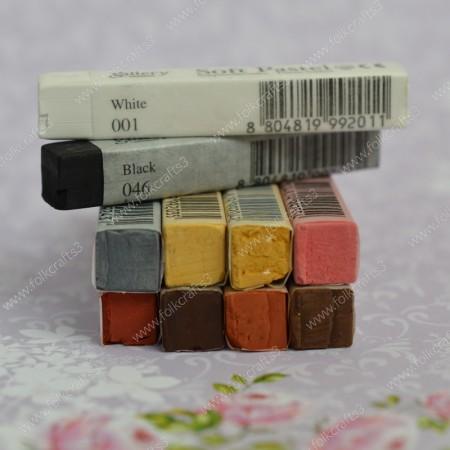Мягкая сухая пастель - набор 10 цветов