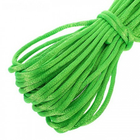 Атласный шнур 3мм - Салатовый