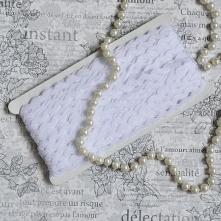 Тесьма вьюн - Белый
