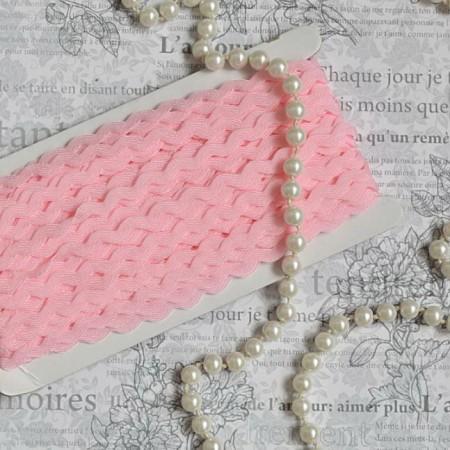 Тесьма вьюн - розовый