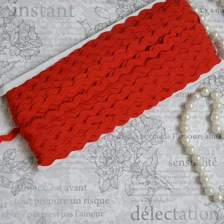 Тесьма вьюн - красный