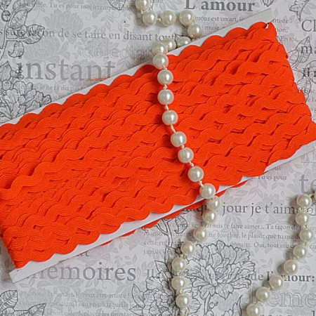 Тесьма вьюн - Оранжевый