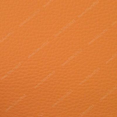 Светло-оранжевая искусственная текстурная кожа
