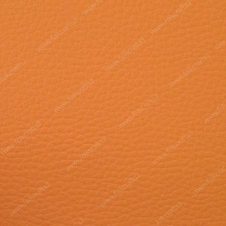 Искусственная текстурная кожа пастельно-оранжевая