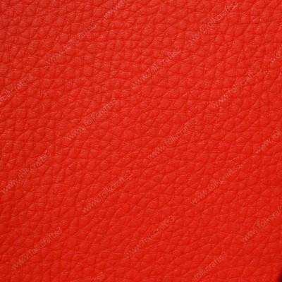 Красная искусственная текстурная кожа