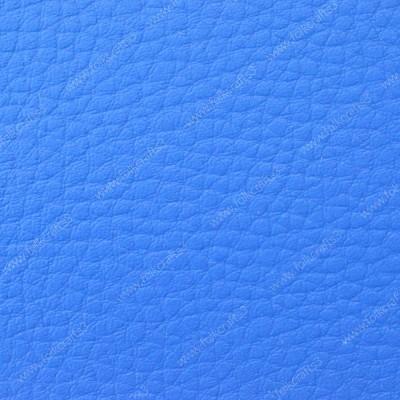 Синяя  искусственная текстурная кожа