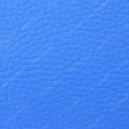 Искусственная текстурная кожа Синяя