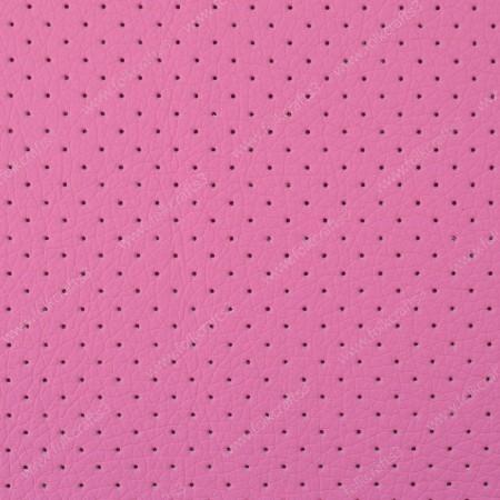 Перфорированная кожа Розовая