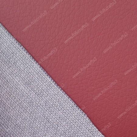 Текстурная эко-кожа Бордового цвета