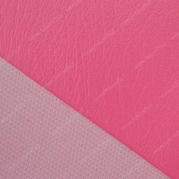 Виниловая кожа ярко-розовая