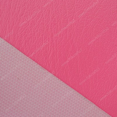 Ярко-розовая виниловая  кожа