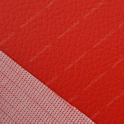 Красная  виниловая  кожа