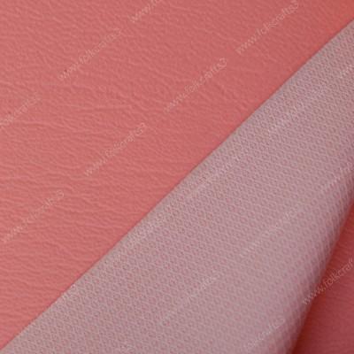 Розовая  виниловая  кожа