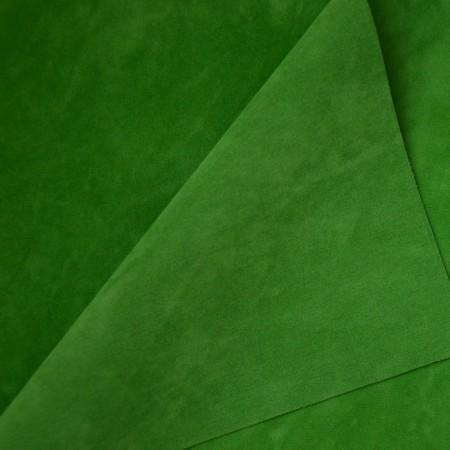 Замша двусторонняя -  Зеленая