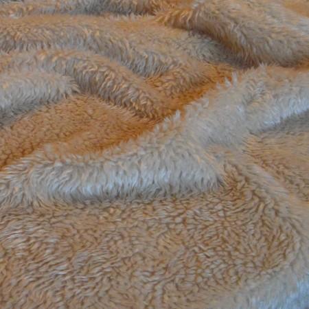 Овчина Мех 25мм Бежевый