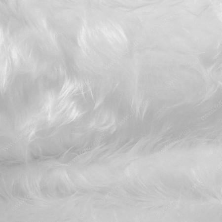 Белый мех 36мм