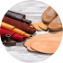 Экокожа, замша, материалы для создания обуви