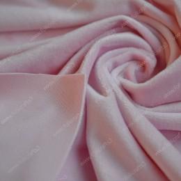 Плюшик бледно-розовый