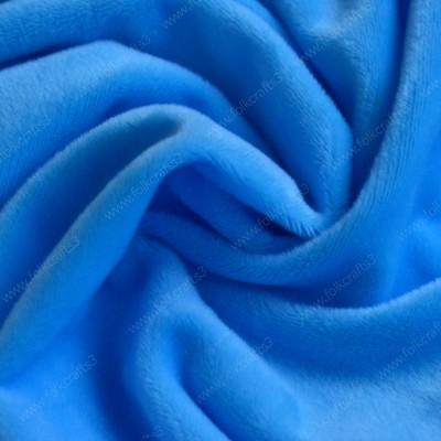 Плюшик ярко-голубой